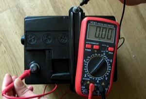 саморазряд аккумулятора